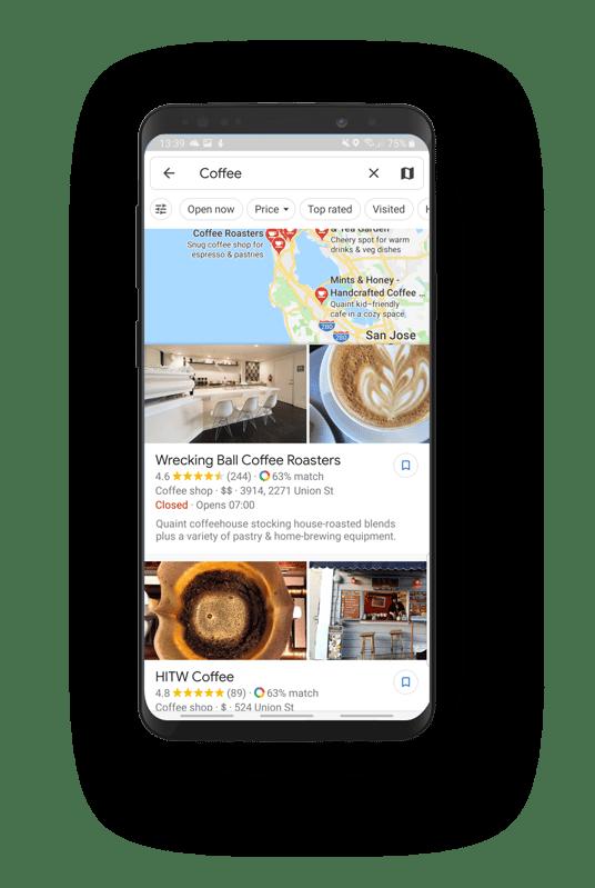 Google Maps Rating Ranking