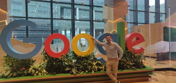Christian Müggler, MapsPeople, at Google Maps Singapore