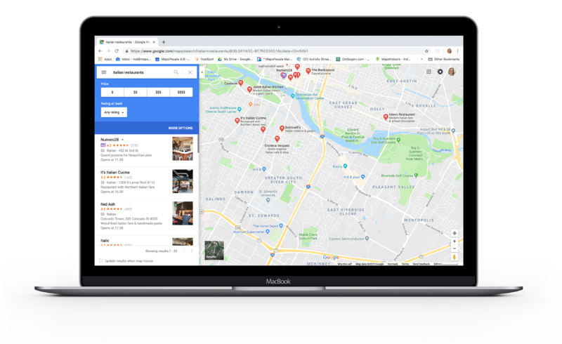 Google Maps Local 3-Pack