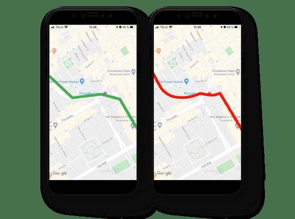 Google Maps APIs - asset tracking